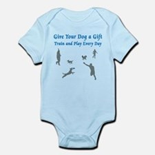 Give Your Dog A Gift Infant Bodysuit