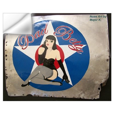 Bad Betty Wall Decal