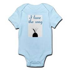 Love the Wag Infant Bodysuit