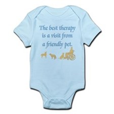 Best Therapy Is A Visit Infant Bodysuit