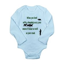 Carry Your Crook Long Sleeve Infant Bodysuit