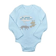 Where Are The Sheep? v2 Long Sleeve Infant Bodysui