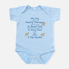 Herding Top Handler Infant Bodysuit