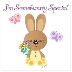 Special Easter Bunny Poster