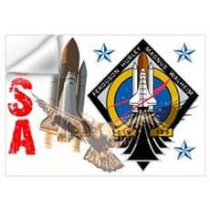 Atlantis STS 135 Wall Decal