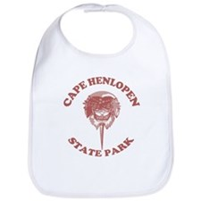 Cape Henlopen DE - Horseshoe Design Bib