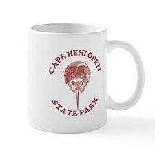 Cape Henlopen DE - Horseshoe Design Mug