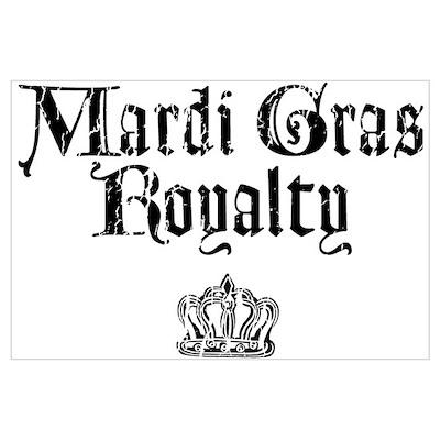 Mardi Gras Royalty Poster