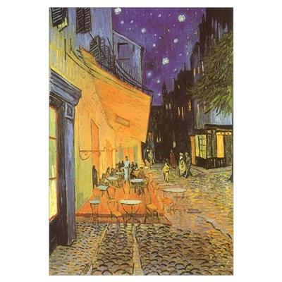 Van Gogh Cafe Terrace Framed Print