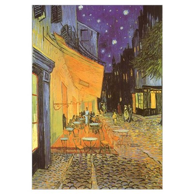 Van Gogh Cafe Terrace Poster