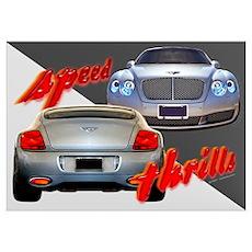 Bentley Speed Poster