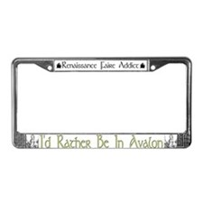 Avalon License Plate Frame