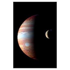 Jupiter & IO Poster