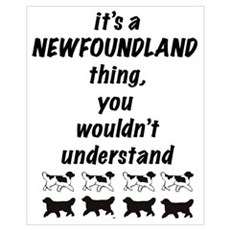It's A Newfoundland Thing Poster