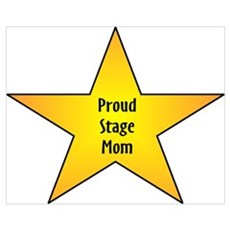 Proud Stage Mom Canvas Art
