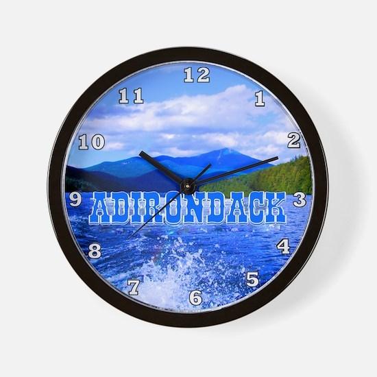 Adirondack Wall Clock