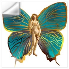Venus Butterfly Wall Decal