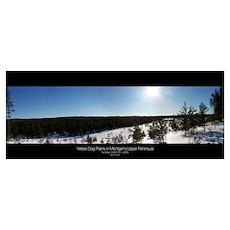 Michigan Upper Peninsula, Winter Poster