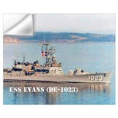 USS EVANS Wall Decal