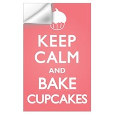 Keep Calm Cupcakes Wall Decal