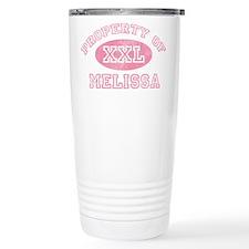 Property of Melissa Travel Mug