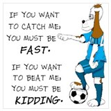 Kids soccer Posters