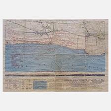 Omaha Beach D-Day Map
