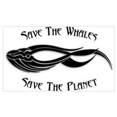 Save The Whales 1 Framed Print