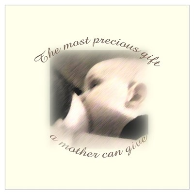 """The most precious gift..."" Canvas Art"