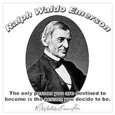 Ralph Waldo Emerson 04 Poster