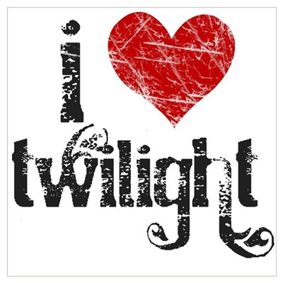 I Love Twilight Poster