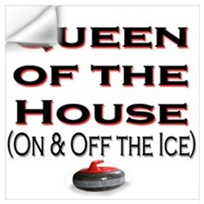 Queen of the House Wall Decal