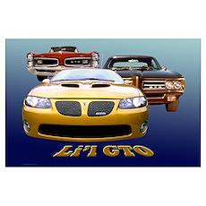 Li'l GTO Poster