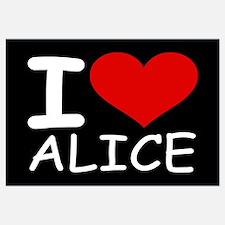 I LOVE ALICE (blk)