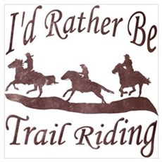 Trail Riders Framed Print