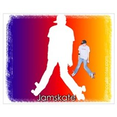 Jamskate Canvas Art