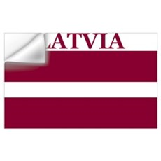 Latvia Products Wall Decal