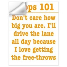 Drive the lane Wall Decal