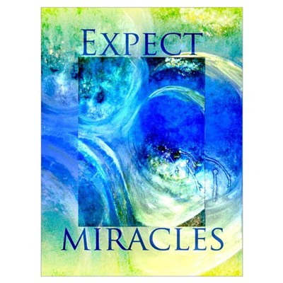 Miracles RECOVERY ART Poster