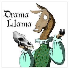 Drama Llama Poster