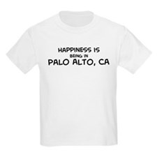 Happiness is Palo Alto Kids T-Shirt