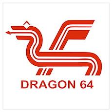 Dragon 64 Poster