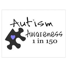 Autism Awareness Framed Print