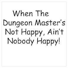 Dungeon Master RPG Poster