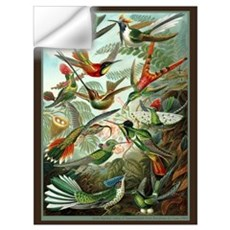 """Hummingbird Print"" Wall Decal"
