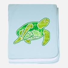 Sea Turtle 2 baby blanket