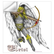 Archangel Uriel Wall Decal