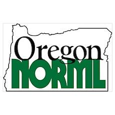 Oregon NORML Logo Poster