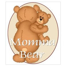 Momma Bear Framed Print