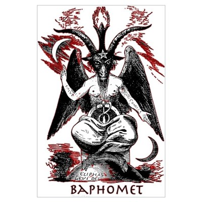 Baphomet Canvas Art